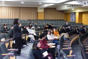 2019年度特別支援教育実習報告会(2020年1月28日)